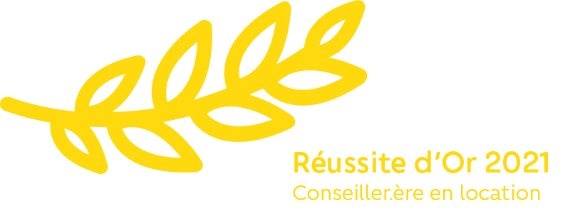 Reussites récompense ORPI 2021 Or Conseiller Location